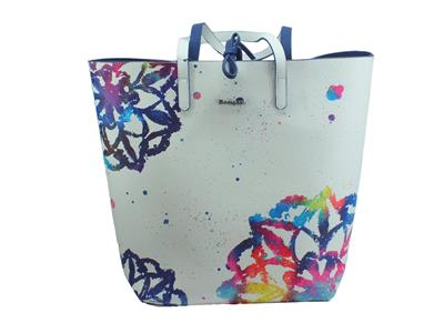 Articolo Desigual 19SAXPBI Water Mandala Rio Bag&Play borsa monospalla in ecopelle bianca