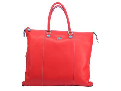 Articolo Gabs Basic G3 Plus L Ruga Sangue borsa con manici e tracollina in pelle rossa