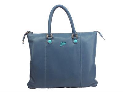 Articolo Gabs Basic G3 Plus M Ruga Marino borsa con manici e tracollina in pelle