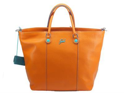 Articolo Gabs Basic GShop M Ruga Zucca borsa con manici e tracollina in pelle colore zucca taglia medium