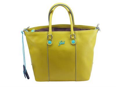 Gabs Basic GShop S Ruga Cedro borsa con manici e tracollina in pelle colore cerdo taglia small