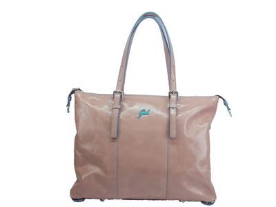 Articolo Gabs Basic M Luna Mauve borsa con monospalla e tracollina in pelle taglia medium