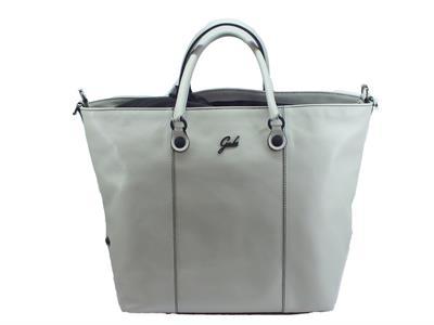 Articolo Gabs Black GShop M Black Escudo grigio perla borsa con manici e tracollina in pelle taglia medium
