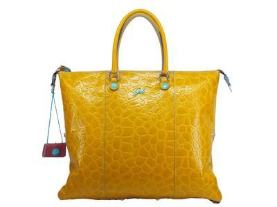 Articolo Gabs G000033T2 X0813 C5007 G3 Plus Tg. L Giraffa Luna Senape Borsa con manici e tracolla