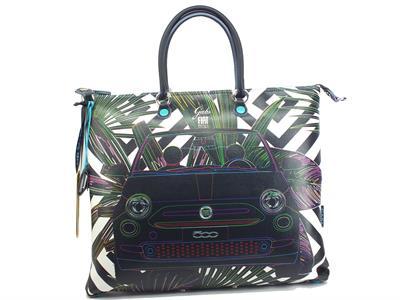 Articolo Gabs G000033T3 G3 Ecosostenibile Fiat Felce 500 Borsa con manici trasformabile per Donna Large