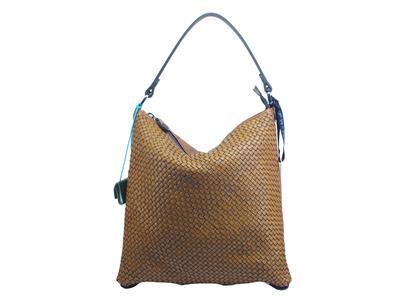 Articolo Gabs G000500T2 Sofia M Intrecciato Cuoio Borsa Shopping con spallotto e manici Donna in pelle