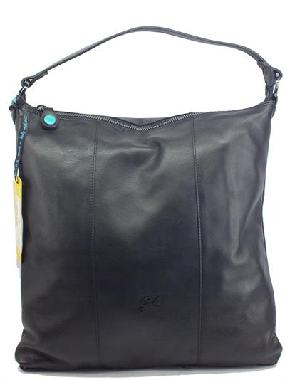 Articolo Gabs G000500T3 Sofia Black Borsa monospalla e tracollina trasformbile per Donna in pelle large