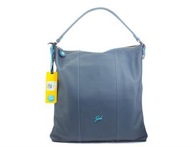 Articolo Gabs G000533T2 Sofia Plus Jeans L monospalla trasformbile in zaino per Donna in pelle blu large