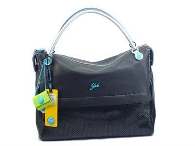 Articolo Gabs G006301T2 Emilia Diamante Nero Borsa Shopping manici tracollina per Donna pelle medium