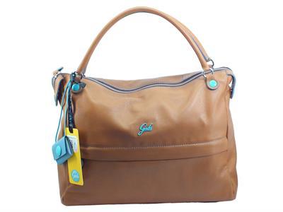 Articolo Gabs G006301T2 Emilia Soft Cjoio Borsa Shopping manici tracollinaper Donna pelle marrone medium