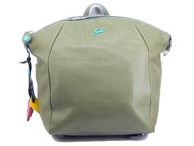 Gabs G007240T2 Nike Ruga Verde Militare Zainetto per Donna con manico in pelle Medium