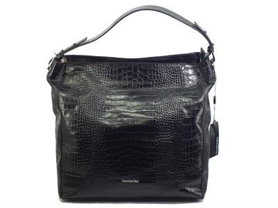 Articolo NeroGiardini IO 48054 D Cocco Nero Borsa Shopping Maxi per Donna in vera pelle