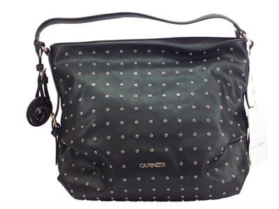 Articolo Borsa CafèNOIR modello shopping bag in ecopelle colore nero con manico