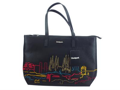 Articolo Borsa Desigual 18WAXPCM New Bolimania City Redmond per donna in ecopelle nera