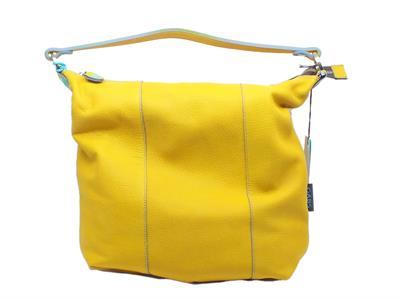 Articolo Borsa Gabs modello Sacca SOFIA FRFR in pelle colore giallo trasformabile