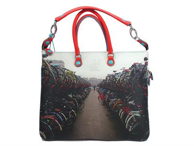 Borsa Gabs modello Shopping Trasformabile Week 322 Amsterdam Medium