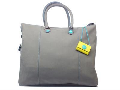 Articolo Borsa Gabs modello Shopping WEEK FRFR in pelle colore grigio trasformabile