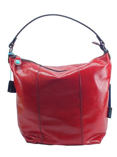 Articolo Borsa monospalla Gabs modello Sofia Luna Taglia Large vera pelle colore rosso