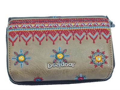 Articolo Desigual 20WAYP30 Lululove Maria Mini Portafoglio con portamonete Donna in ecopelle marrone