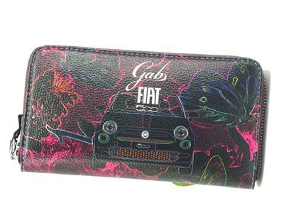 Articolo GABS G000140ND Gmoney Fiat Farfalle 500 Portafoglio Donna con lampo
