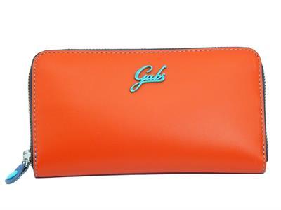 Articolo Gabs G000140ND P0354 C5501 Nappa Arancio Portafogli per donna in pelle con lampo