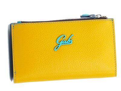 Articolo Gabs G004370ND P0086 C5009 Zafferano Portafogli in pelle per donna con clip e portamonete