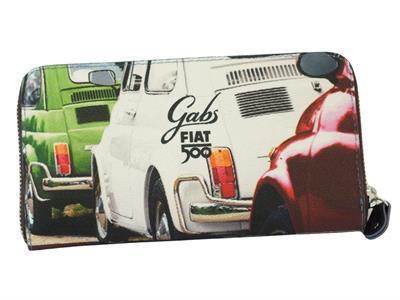 Articolo Portafoglio Gabs edizione 60 anni Fiat modello tricolore