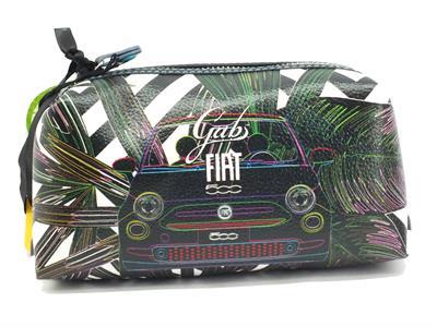 Articolo Gabs G000080ND Gbeauty Fiat Felce 500 Portatrucchi per Donna con lampo