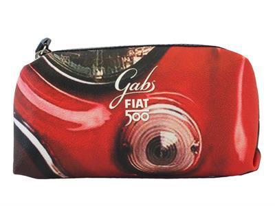 Articolo Portatrucchi Gabs edizione 60 anni Fiat modello fanale