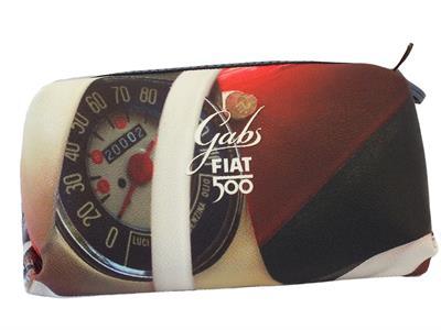 Articolo Portatrucchi Gabs edizione 60 anni Fiat modello tachimetro