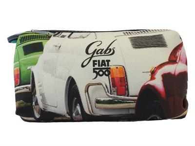 Articolo Portatrucchi Gabs edizione 60 anni Fiat modello tricolore