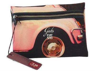 Articolo Pochette Gabs edizione 60 anni Fiat modello ruota