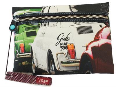 Articolo Pochette Gabs edizione 60 anni Fiat modello tricolore