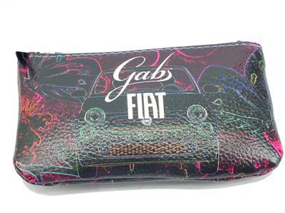 Articolo Gabs G000100ND Gkeyholder Fiat Farfalle 500 Portachiavi per Donna con lampo