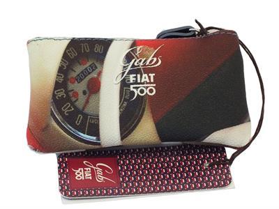 Articolo Portachiavi Gabs edizione 60 anni Fiat modello tachimetro