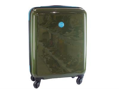 Articolo Gabs G003110T1 X0730 C2510 Carry Taglia S Verde trolley da viaggio con rotelle gomma lucida
