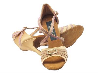 Dettagli su Scarpe da ballo donna per dnze latino americane in raso tanganika tacco alto